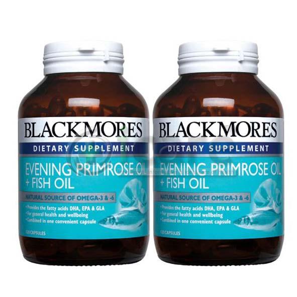 blackmore evening primerose+fish oil