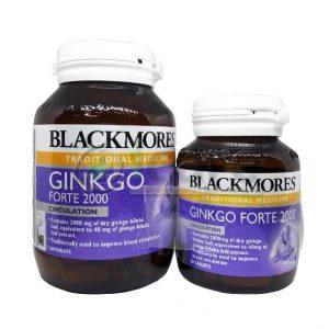 blackmore ginkgo forte 2000 120's + 30's