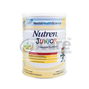 nestle health science nutren junior complete nutrition 800g