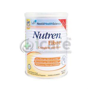 nutren fibre vanilla flavour 400g